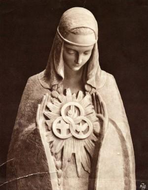 Marie, fille du Père, épouse de l'Esprit et mère du Fils